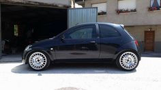 Ford Ka sport version, black and big rims