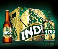 Cambio de imagen de Indio...  Despues de tantos años le dieron una pulida al diseño... se ve muy bien!