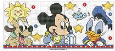 BABY DISNEY CROSS STITCH by syra1974