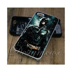 Batman iPhone 6/6S Case, iPhone 5/5S Case, iPhone 5C Case,iPhone 4/4s... via Polyvore featuring accessories and tech accessories