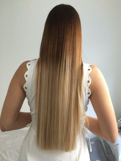 Touched up. #blonde#ombre#balayage#foils#longhair#bluntcut#straightcut#asianbalayage#dipdye