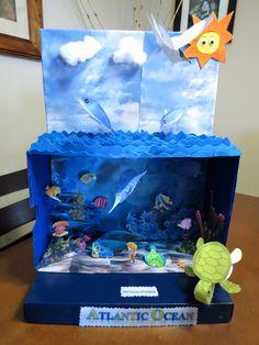 Ocean Crafts for Kids Fresh Diorama Del Oceano Zarah Lavariega