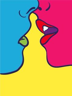 Thoughts on Pop Art Decor and Why Don't You Have it Yet? Find the ultimate pop art essentials for your mid-century home decor Arte Pop, Inspiration Art, Art Inspo, Pop Art Lips, Pop Art Face, Tableau Pop Art, Posca Art, Graphic Art, Graphic Design