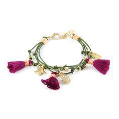 Ettika :: Bracelets :: Classics :: Twisted Traveler Bracelet in Enchanted Forest