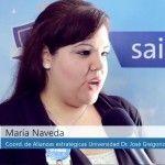 Opinión de la licenciada María Naveda representante de la Universidad Dr. José Gregorio Hernandez