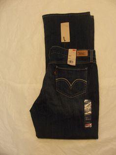 Levi's 518 Jeans Bootcut Low Rise,Stretch Denim Size 0-17 Variation Color & Size #Levis518Jeans #BootCut