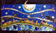 La musica della notte The music of the night By Silvia Logi.