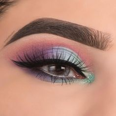 88 Gorgeous eye makeup ideas How can you learn tricks if you're just starting to make up? Makeup Goals, Makeup Inspo, Makeup Art, Beauty Makeup, Hair Makeup, Makeup Ideas, Gorgeous Eyes, Gorgeous Makeup, Cool Makeup Looks