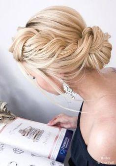 Elstile Long Wedding Hairstyles and Updos #weddinghairstyles