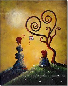 romantic hearts - Shawna Erback