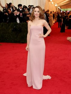 Rachel McAdams in Ralph Lauren at the 2104 Met Gala.