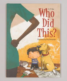Love this Who Did This? Hardcover on #zulily! #zulilyfinds