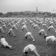 Exercise. Dolf Kruger, 1952.