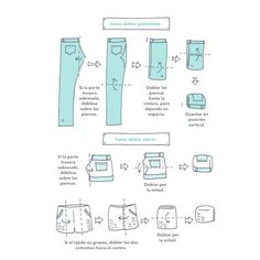 How To Fold Pants Konmari Method Folding Organiser Son Dressing Organizing Your Home Organising Kon Mari Folding Closet Organization Marie Kondo House Folding Pants Criando con amor: Ordenando al estilo KonMari Closet Organisation, Room Organization, How To Fold Shorts, Konmari Method Folding, Organiser Son Dressing, Tidy Up, Getting Organized, Clean House, Cleaning