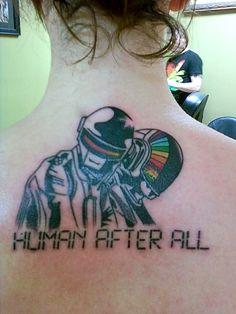 Daft Punk Tattoo Tumblr Daft punk tattoos