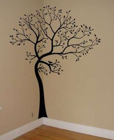 48 Ideas kitchen wall stickers murals for 2019 Family Tree Wall Sticker, Bird Wall Decals, Tree Decals, Kitchen Wall Stickers, Tree Wall Art, Kitchen Wall Art, Tree Design On Wall, Vinyl Decals, Large Wall Decals