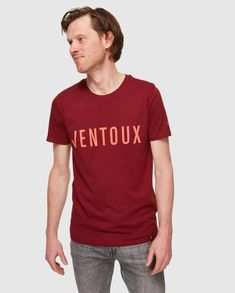 Ventoux - T-shirt - La Machine Cycle Club - Couture de Course The Mont, Bicycle Race, T Shirts, Men Casual, Hero, Man Shop, Club, Couture, Mens Tops