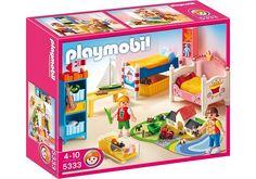 Playmobil - 5333 - Jeu de construction - Chambre des enfants avec lits décorés: Amazon.fr: Jeux et Jouets