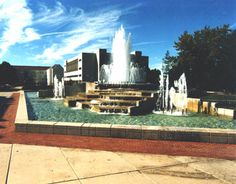 Missouri State University John Q. Hammons Fountain Springfield, MO
