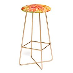 Rosie Brown Hello Hibiscus Bar Stool | DENY Designs Home Accessories