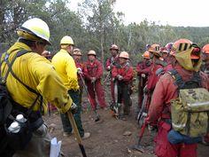 fire crews | slideshow] Inmate fire crews help fight blazes near Ruidoso