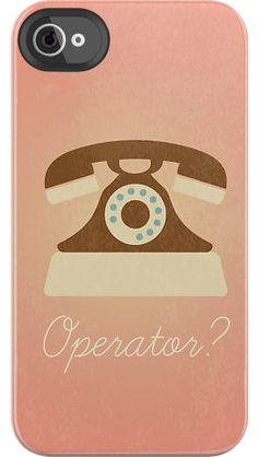 Hello Operator case by Uncommon