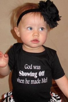 God was SHOWING OFF when He made Me!-TOO CUTE!.I can't believe Megan gave Peytons twin away. @Patty Powell @Megan Boliver