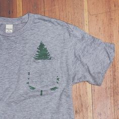 Fancy - Evergreen Pocket Tee by Bridge & Burn