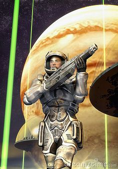 Futuristic Soldier Starship Troopers Stock Illustration - Illustration of futuristic, portrait: 22864166 Starship Troopers, Sci Fi Armor, Future Soldier, Thing 1, Free Art Prints, Science Fiction Books, Sci Fi Books, Fantasy Warrior, Fantastic Art