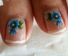 Manicure, Pedicure Nails, Toe Nails, Spring Nails, Summer Nails, Pedicure Nail Designs, Cute Pedicures, Toe Nail Designs, Cute Nail Art
