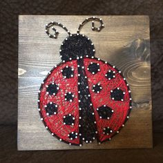 Insect String Art by KiwiStrings on Etsy