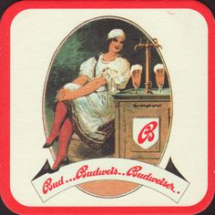 Beer coaster budvar-156