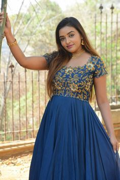 Ashi Roy wearing navy blue maxi embellished dress at her upcoming Tollywood movie Savithri Wife Of Satyamurthy launch. #ashiroy #tollywood #southindianactress Telugu Actress Photograph PROUDE TO BE A BIHARI | YOUTUBE.COM/WATCH?V=IQNWY4AS3ME #EDUCRATSWEB