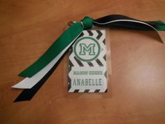 cheerleading bag tags by ReginesPartyBoutique on Etsy