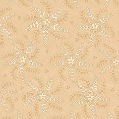 Cream  Whimsy Quilting Fabric  Henry Glass  by PrimitiveQuilting, $5.30