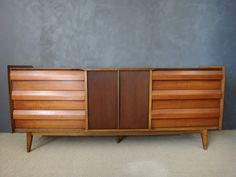 Vintage mid century modern lowboy dresser by Lane from their First Edition for Sale in Dover, NH - OfferUp Lowboy Dresser, Furniture Projects, Cabinet Doors, Credenza, Mid-century Modern, New Homes, Mid Century, Storage, Interior