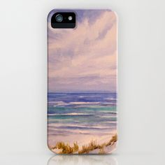 Water's Edge Seascape iPhone & iPod Case by Rosie Brown - $35.00  #iphoe #ipod #art #seascape #beach #nature #tropical #florida