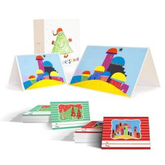 Would you like to have a Christmas card with your child's art?