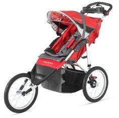 7.Schwinn Arrow Single Stroller, Red Black