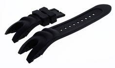 26Mm Silicone Rubber Watch Band Strap For Invicta Reserve Collection Venon 6110