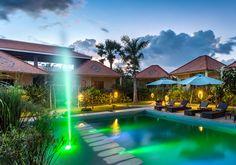 Pool @ Au Cabaret Vert Hotel : Battambang, Cambodia
