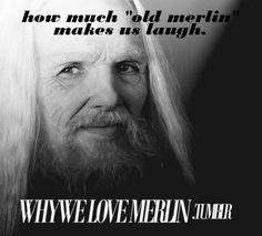 LOVE old Merlin