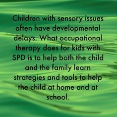School Success and Sensory Processing Disorder | The Sensory Spectrum