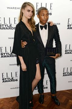 Cara Delevingne & Pharrell Williams