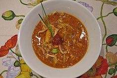 Peking Soup by CarrieBradshaw Baby Food Recipes, Soup Recipes, Snack Recipes, Cooking Recipes, Vegan Keto Recipes, Healthy Recipes, Peking Chicken, Sweet And Sour Soup, Fermented Bread