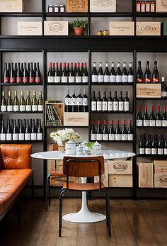 threefold, melbourne - design for wine room