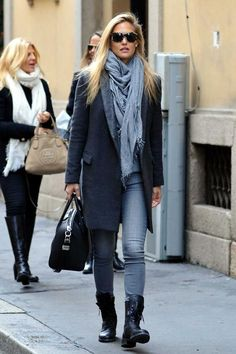 How to wear fall fashion outfits with casual style trends Winter Fashion Outfits, Fall Winter Outfits, Autumn Winter Fashion, Fashion Mode, Look Fashion, Womens Fashion, Fashion Trends, Milan Fashion, Mode Outfits