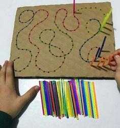 Actividades para Educación Infantil: 10 actividades de destreza manual (motricidad fina)