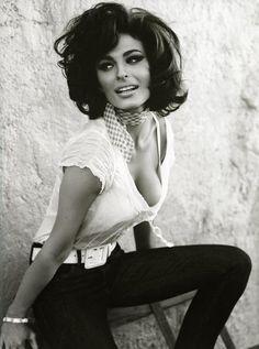 Sophia Loren via Salon Ruggeri