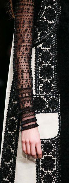 Embellishment Details | Valentino | Fall 2015
